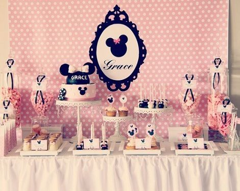 Minnie Mouse Candy Table Ideas