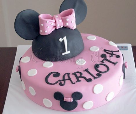 tartas cumpleanos minnie mouse