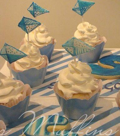 bautismo nino cupcakes