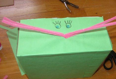 cajas personalizadas conejo dibujar