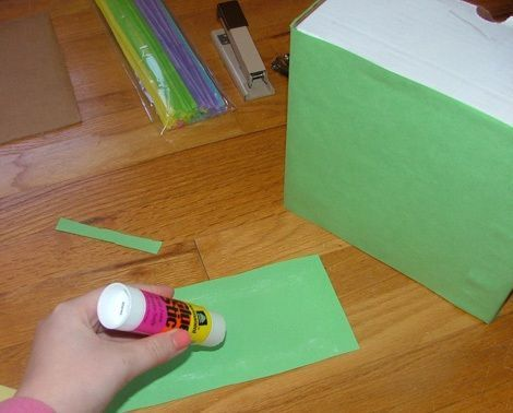 cajas personalizadas conejo pegar cartulina