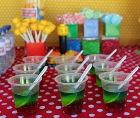 cumpleanos lego gelatina
