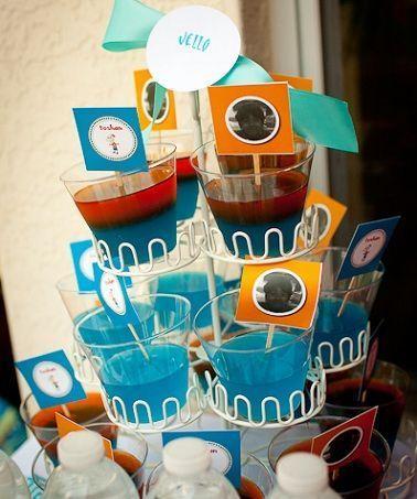 fiesta cumpleanos phineas ferb gelatina