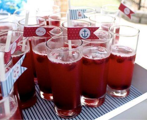 fiesta marinera bebida