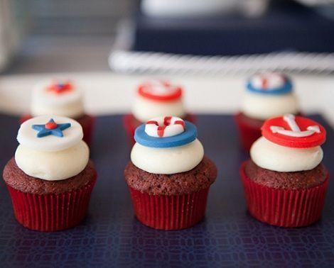 fiesta marinera cupcakes