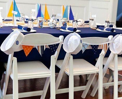 fiesta marinera mesa ninos