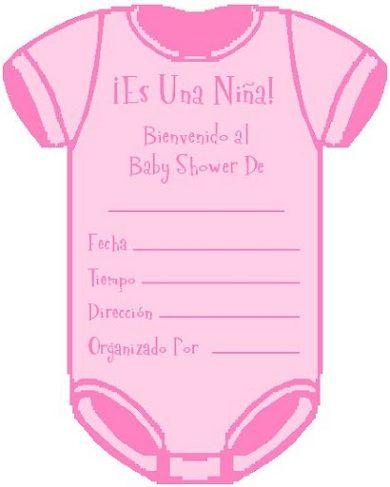 invitaciones baby shower body