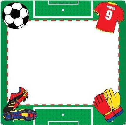 Tarjetas de invitación cumpleaños motivo futbol - Imagui