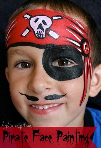 pintacaras de pirata