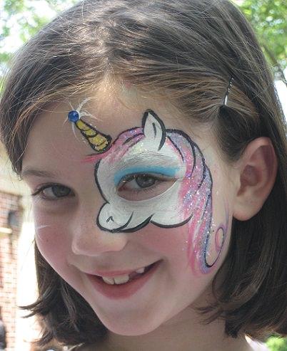10 consejos para pintar caras con ni os - Pinturas de cara para ninos ...