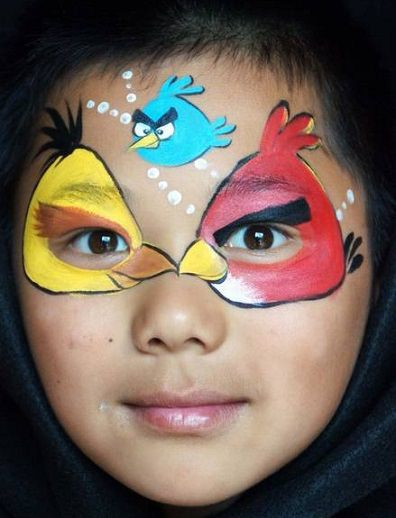 Ideas Originales Para Pintar Caras De Fiesta