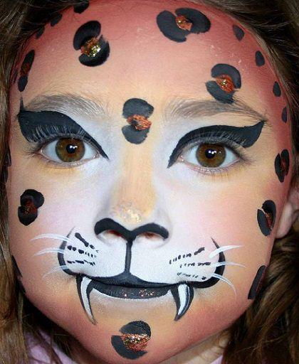Caras Pintadas Leopardo Imagui