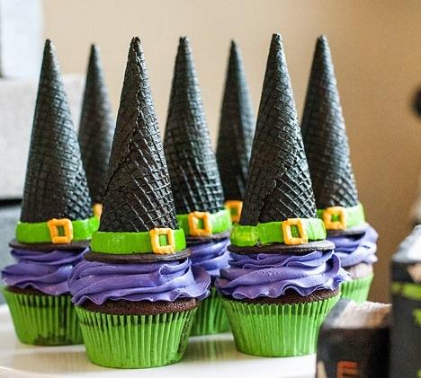 cupcakes de halloween