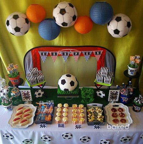 Ideas para la decoraci n de una fiesta de cumplea os de - Telas con motivos infantiles ...