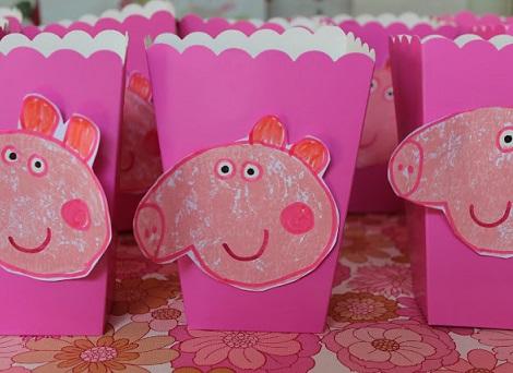 caseras para la decoraci n de una fiesta de cumplea os de peppa pig