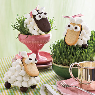Ideas de figuras con gominolas para fiestas for Centros de mesa con chuches