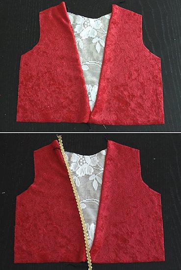 disfraz medieval de nia