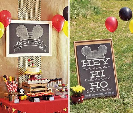 cmo organizar un cumpleaos de mickey mouse en casa with fiestas de cumpleaos en casa