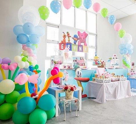 Centro de mesa infantiles de pocoyo y sus amigos cotillon - Fiesta cumpleanos infantil ...