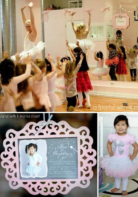 cumpleanos de princesas bailarinas