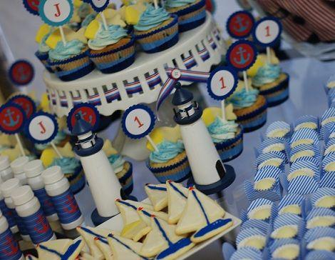 fiesta de cumpleanos de un ano marinera