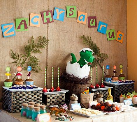 C mo organizar una fiesta de cumplea os de dinosaurios - Ideas para cumpleanos infantiles en casa ...