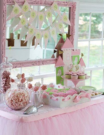 ideas para una autentica fiesta de princesas