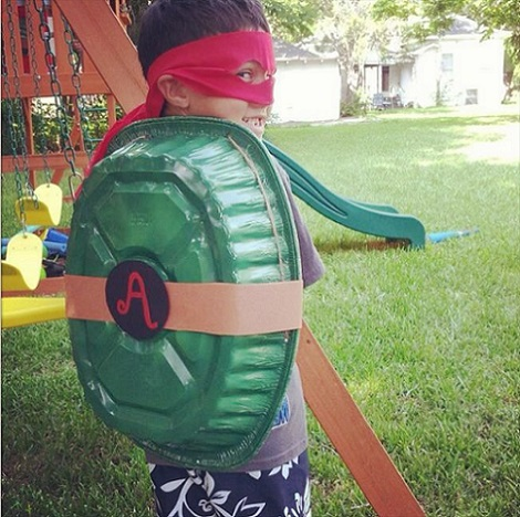ideas caseras para un cumpleaños de las tortugas ninja