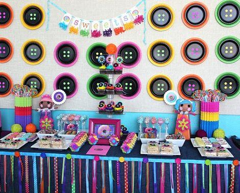 ideas para un cumpleaños de lalaloopsy