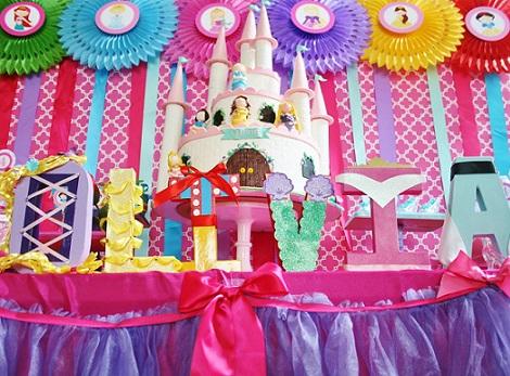 Ideas para cumpleaños Princesas Disney - Imagui