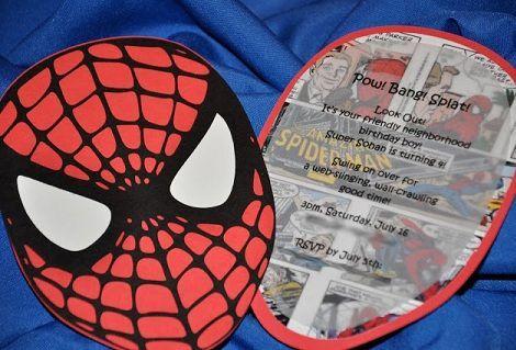 Spiderman Birthday Invite was luxury invitation layout