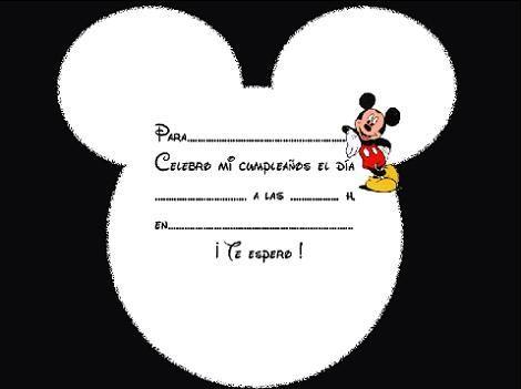 Invitación Disney