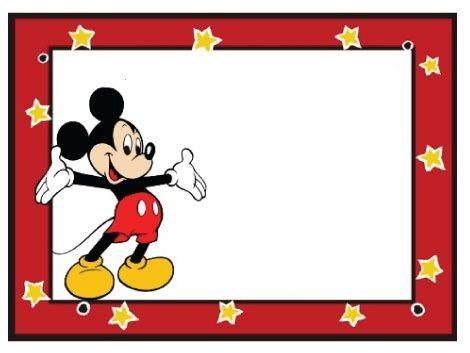 invitaciones de cumpleaños de mickey y minnie mouse