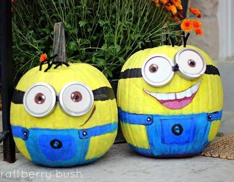 Ideas para decorar tus calabazas en halloween - Calabazas decoradas para halloween ...