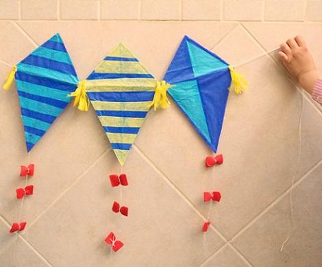 como hacer una cometa de papel