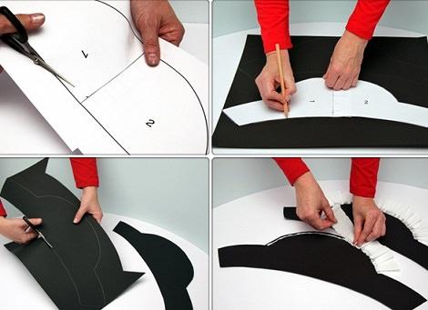 Как сделать пирата из бумаги своими руками 63
