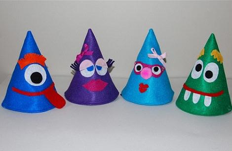 sombreros de fieltro para fiestas infantiles