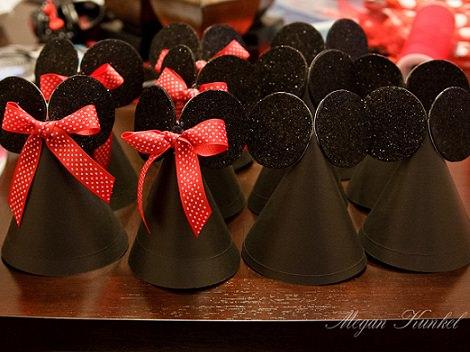 sombreros de mickey mousepara fiestas infantiles