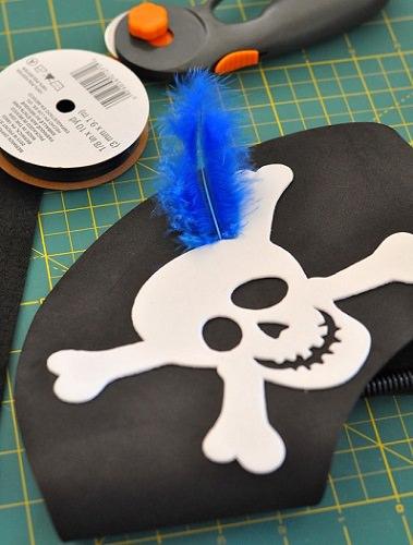 sombreros de piratas para fiestas infantiles