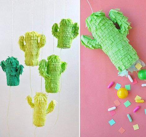 Pi atas infantiles caseras para cumplea os for Decoracion de pinatas infantiles