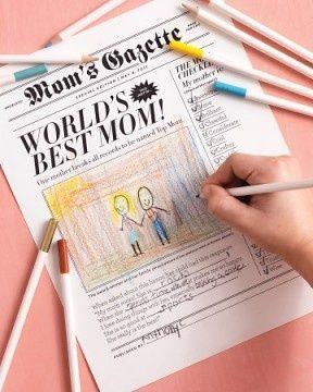 manualiades del día de la madre para niños