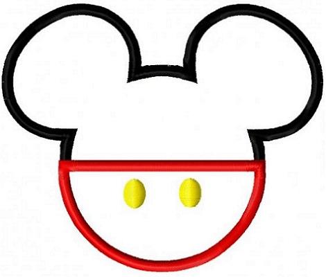 Siluetas de Mickey Mouse y Minnie para imprimir en casa