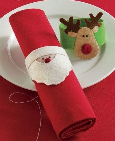 Adornos fieltro navidad - Adornos con fieltro ...
