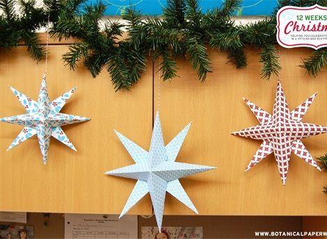 hacer tus estrellas de navidad las estrellas son muy simbólicas en