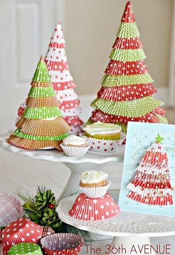 An mate a hacer tu propio rbol de navidad casero for Arboles de navidad caseros y originales