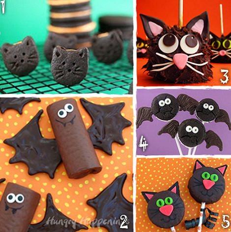 Crea tus chuches decoradas de halloween de forma casera - Decoracion halloween infantil ...