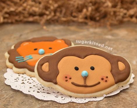 como hacer galletas decoradas con glasé real