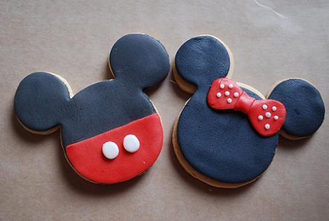 Galletas Mickey y Minnie
