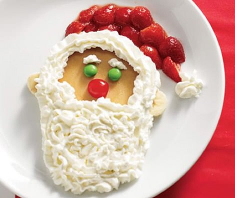 tortitas de navidad decoradas