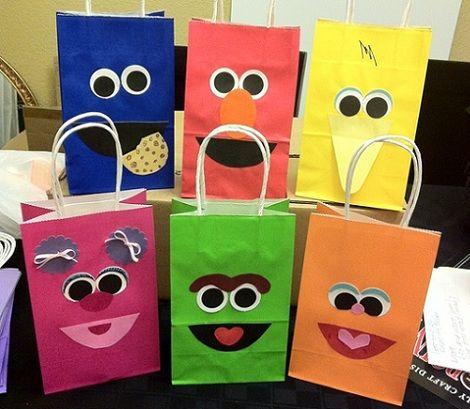 ideas para tus bolsas de cumpleanos caseras